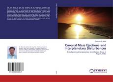 Обложка Coronal Mass Ejections and Interplanetary Disturbances