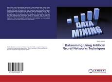 Capa do livro de Datamining Using Artificial Neural Networks Techniques