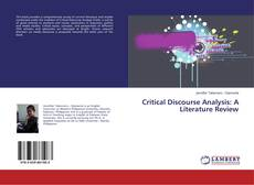 Bookcover of Critical Discourse Analysis: A Literature Review