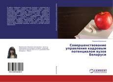Bookcover of Совершенствование управления кадровым потенциалом вузов Беларуси