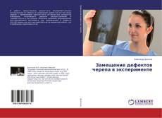 Bookcover of Замещение дефектов черепа в эксперименте