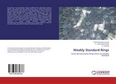 Bookcover of Weakly Standard Rings
