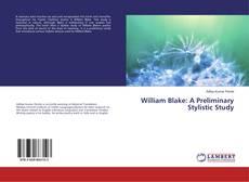 Capa do livro de William Blake: A Preliminary Stylistic Study