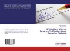 Buchcover von Offline Hand Written Signature Verification Using Geometric Features