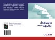 """Bookcover of Управление финансовым состоянием ООО """"Технозип"""""""