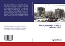 Bookcover of Managing projects during national crises