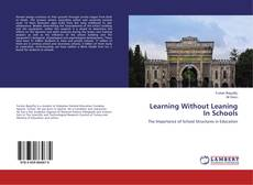 Capa do livro de Learning Without Leaning In Schools