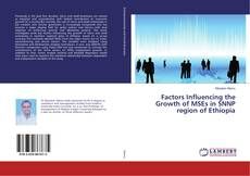Bookcover of Factors Influencing the Growth of MSEs in SNNP region of Ethiopia