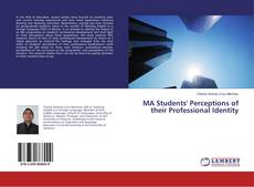 Bookcover of MA Students' Perceptions of their Professional Identity