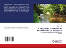 Buchcover von Vulnerability Assessment of Rural Livelihoods to Impacts