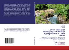 Capa do livro de Survey, Molecular Phylogeny and Induced hyperglycemia in Giant Danio