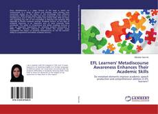 Обложка EFL Learners' Metadiscourse Awareness Enhances Their Academic Skills