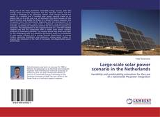 Large-scale solar power scenario in the Netherlands kitap kapağı