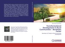 Buchcover von Transformational Development in Rural Communities – Boreholes Factor