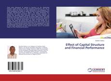 Effect of Capital Structure and Financial Performance kitap kapağı