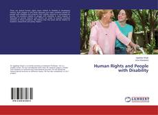 Buchcover von Human Rights and People with Disability