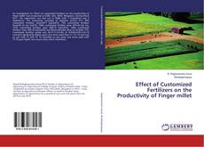 Bookcover of Effect of Customized Fertilizers on the Productivity of Finger millet
