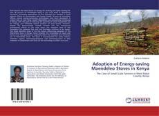 Couverture de Adoption of Energy-saving Maendeleo Stoves in Kenya