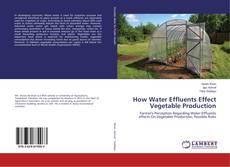How Water Effluents Effect Vegetable Production kitap kapağı