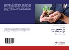 Copertina di Role of DNA in Biotechnology