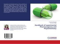 Обложка Handbook of experimental Pharmacognosy and Phytochemistry