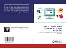 Couverture de Effects of new media technologies in high education