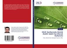 Bookcover of HILIC Şartlarında Hümik Asidin Sabit Faz Olarak Kullanımı