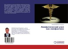 Bookcover of Лимфатический узел как лимфангион