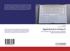 Portada del libro de Apple Brand or Product?