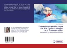Bookcover of Shehata Recommendations For The Ex-vivo Perfusion Lung Transplantation