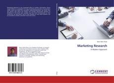 Couverture de Marketing Research