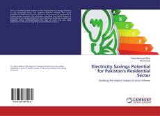 Bookcover of Electricity Savings Potential for Pakistan's Residential Sector