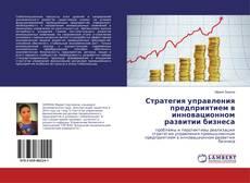 Стратегия управления предприятием в инновационном развитии бизнеса kitap kapağı