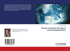 Bookcover of Theory of Entire Functions and its Applications