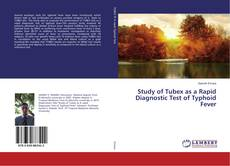 Обложка Study of Tubex as a Rapid Diagnostic Test of Typhoid Fever