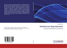 Bookcover of Holothurian Reproduction
