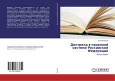 Bookcover of Доктрина в правовой системе Российской Федерации