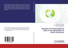 Bookcover of Analysis of Technological Gap in the Adoption of Aonla practices