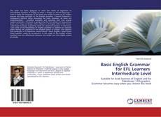 Couverture de Basic English Grammar for EFL Learners Intermediate Level