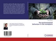 Portada del libro de Pro-environmental behaviour in the workplace