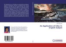 Portada del libro de An Application of CALL In English Subject