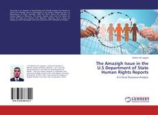Bookcover of The Amazigh Issue in the U.S Department of State Human Rights Reports