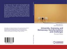 Bookcover of University, Economy and Democracy: transformations and challenges