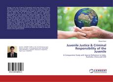 Bookcover of Juvenile Justice & Criminal Responsibility of the Juvenile