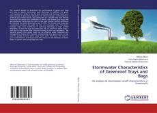 Portada del libro de Stormwater Characteristics of Greenroof Trays and Bags