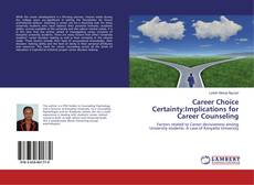 Capa do livro de Career Choice Certainty:Implications for Career Counseling