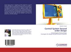 Control System Second order design的封面