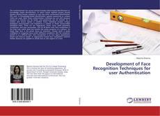 Capa do livro de Development of Face Recognition Techniques for user Authentication