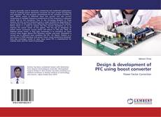 Buchcover von Design & development of PFC using boost converter