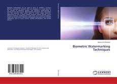 Capa do livro de Biometric Watermarking Techniques